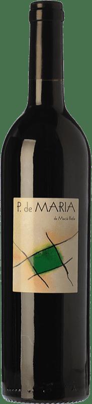 18,95 € Free Shipping | Red wine Macià Batle Pagos de María Crianza D.O. Binissalem Balearic Islands Spain Merlot, Syrah, Cabernet Sauvignon, Mantonegro Bottle 75 cl