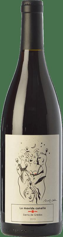 15,95 € Envoi gratuit | Vin rouge Maldivinas La Movida Canalla Crianza I.G.P. Vino de la Tierra de Castilla y León Castille et Leon Espagne Grenache Bouteille 75 cl