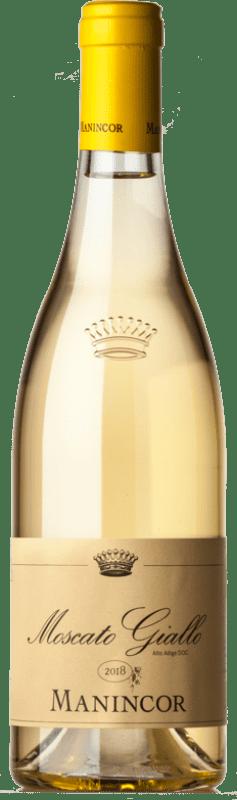 15,95 € Free Shipping | White wine Manincor D.O.C. Alto Adige Trentino-Alto Adige Italy Muscatel Giallo Bottle 75 cl