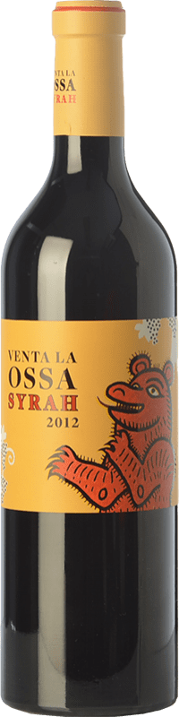 11,95 € Envío gratis | Vino tinto Mano a Mano Venta La Ossa Crianza I.G.P. Vino de la Tierra de Castilla Castilla la Mancha España Syrah Botella 75 cl