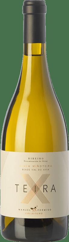 19,95 € Envoi gratuit   Vin blanc Formigo Teira X D.O. Ribeiro Galice Espagne Albillo, Loureiro, Treixadura, Albariño Bouteille 75 cl