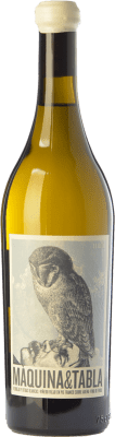 16,95 € Kostenloser Versand | Weißwein Máquina & Tabla Crianza D.O. Rueda Kastilien und León Spanien Verdejo Flasche 75 cl