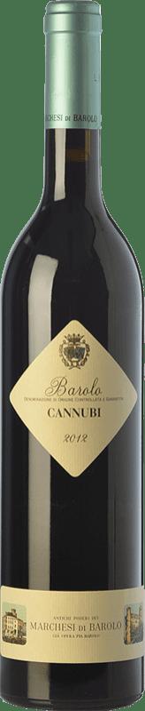 49,95 € Envoi gratuit | Vin rouge Marchesi di Barolo Cannubi D.O.C.G. Barolo Piémont Italie Nebbiolo Bouteille 75 cl