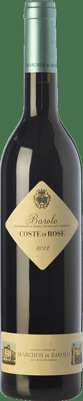 33,95 € Envoi gratuit | Vin rouge Marchesi di Barolo Coste di Rose D.O.C.G. Barolo Piémont Italie Nebbiolo Bouteille 75 cl