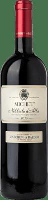 23,95 € Free Shipping | Red wine Marchesi di Barolo Michet D.O.C. Nebbiolo d'Alba Piemonte Italy Nebbiolo Bottle 75 cl
