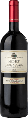 19,95 € Envoi gratuit | Vin rouge Marchesi di Barolo Michet D.O.C. Nebbiolo d'Alba Piémont Italie Nebbiolo Bouteille 75 cl