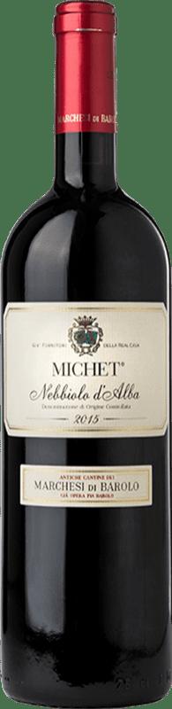 19,95 € Free Shipping   Red wine Marchesi di Barolo Michet D.O.C. Nebbiolo d'Alba Piemonte Italy Nebbiolo Bottle 75 cl