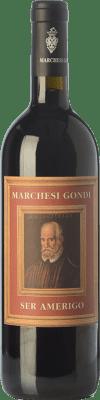 21,95 € Free Shipping | Red wine Marchesi Gondi Ser Amerigo I.G.T. Colli della Toscana Centrale Tuscany Italy Merlot, Sangiovese, Colorino Bottle 75 cl