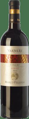 15,95 € Free Shipping | Red wine Marco Felluga Varneri D.O.C. Collio Goriziano-Collio Friuli-Venezia Giulia Italy Merlot Bottle 75 cl