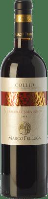 15,95 € Free Shipping | Red wine Marco Felluga D.O.C. Collio Goriziano-Collio Friuli-Venezia Giulia Italy Cabernet Sauvignon Bottle 75 cl