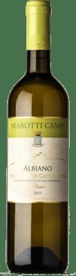 8,95 € Free Shipping | White wine Marotti Campi Albiano Joven D.O.C. Verdicchio dei Castelli di Jesi Marche Italy Verdicchio Bottle 75 cl