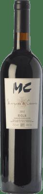 34,95 € Free Shipping | Red wine Marqués de Cáceres MC Crianza D.O.Ca. Rioja The Rioja Spain Tempranillo Bottle 75 cl