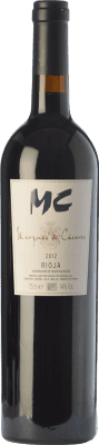 25,95 € Kostenloser Versand   Rotwein Marqués de Cáceres MC Crianza D.O.Ca. Rioja La Rioja Spanien Tempranillo Flasche 75 cl