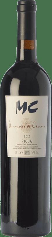 32,95 € Free Shipping | Red wine Marqués de Cáceres MC Crianza D.O.Ca. Rioja The Rioja Spain Tempranillo Bottle 75 cl
