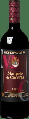 13,95 € Free Shipping | Red wine Marqués de Cáceres Reserva D.O.Ca. Rioja The Rioja Spain Tempranillo, Grenache, Graciano Bottle 75 cl