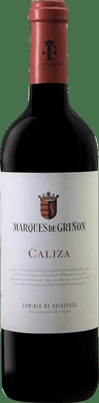 11,95 € Free Shipping | Red wine Marqués de Griñón Caliza Joven D.O.P. Vino de Pago Dominio de Valdepusa Castilla la Mancha Spain Syrah, Petit Verdot Bottle 75 cl