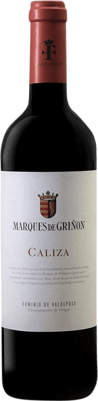 9,95 € Envoi gratuit | Vin rouge Marqués de Griñón Caliza Joven D.O.P. Vino de Pago Dominio de Valdepusa Castilla La Mancha Espagne Syrah, Petit Verdot Bouteille 75 cl
