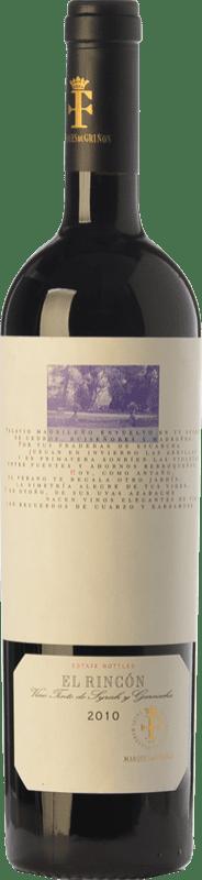 13,95 € Envoi gratuit | Vin rouge Marqués de Griñón El Rincón Crianza D.O. Vinos de Madrid La communauté de Madrid Espagne Syrah, Grenache Bouteille 75 cl
