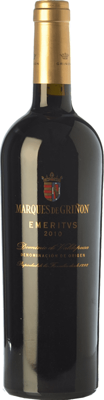39,95 € Free Shipping | Red wine Marqués de Griñón Emeritus Crianza D.O.P. Vino de Pago Dominio de Valdepusa Castilla la Mancha Spain Syrah, Cabernet Sauvignon, Petit Verdot Bottle 75 cl