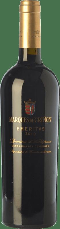 44,95 € Envoi gratuit | Vin rouge Marqués de Griñón Emeritus Crianza D.O.P. Vino de Pago Dominio de Valdepusa Castilla La Mancha Espagne Syrah, Cabernet Sauvignon, Petit Verdot Bouteille 75 cl