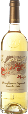 565,95 € Free Shipping | White wine Marqués de Murrieta Castillo Ygay Crianza 1986 D.O.Ca. Rioja The Rioja Spain Viura, Malvasía Bottle 75 cl