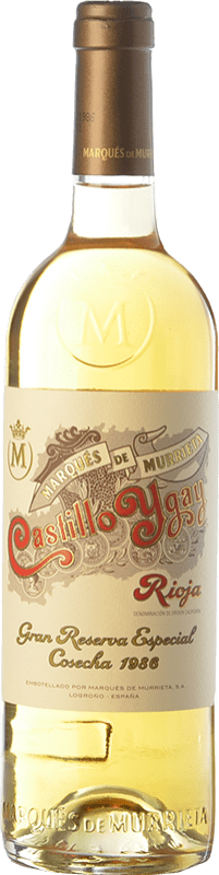 532,95 € Envoi gratuit | Vin blanc Marqués de Murrieta Castillo Ygay Crianza 1986 D.O.Ca. Rioja La Rioja Espagne Viura, Malvasía Bouteille 75 cl