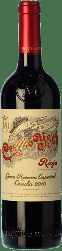 209,95 € Envío gratis | Vino tinto Marqués de Murrieta Castillo Ygay Especial Gran Reserva 2010 D.O.Ca. Rioja La Rioja España Tempranillo, Mazuelo Botella 75 cl