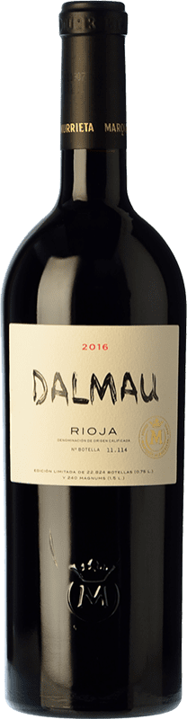 76,95 € Free Shipping | Red wine Marqués de Murrieta Dalmau Reserva D.O.Ca. Rioja The Rioja Spain Tempranillo, Cabernet Sauvignon, Graciano Bottle 75 cl
