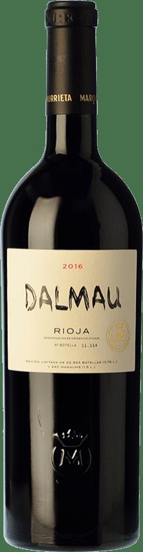 69,95 € Spedizione Gratuita | Vino rosso Marqués de Murrieta Dalmau Reserva D.O.Ca. Rioja La Rioja Spagna Tempranillo, Cabernet Sauvignon, Graciano Bottiglia 75 cl