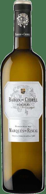 42,95 € Envoi gratuit   Vin blanc Marqués de Riscal Barón de Chirel Crianza I.G.P. Vino de la Tierra de Castilla y León Castille et Leon Espagne Verdejo Bouteille 75 cl