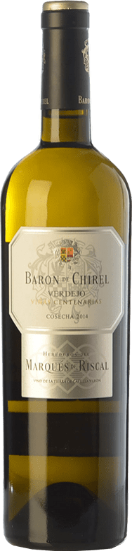 51,95 € Free Shipping | White wine Marqués de Riscal Barón de Chirel Crianza I.G.P. Vino de la Tierra de Castilla y León Castilla y León Spain Verdejo Bottle 75 cl