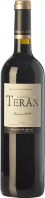 17,95 € Free Shipping | Red wine Marqués de Terán Reserva D.O.Ca. Rioja The Rioja Spain Tempranillo, Grenache, Mazuelo Bottle 75 cl