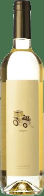 6,95 € Free Shipping | White wine Martí Serdà Vinyet Blanc Joven D.O. Penedès Catalonia Spain Muscatel, Macabeo, Parellada Bottle 75 cl