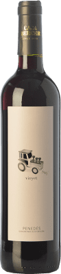 7,95 € Free Shipping | Red wine Martí Serdà Vinyet Negre Joven D.O. Penedès Catalonia Spain Grenache, Cabernet Sauvignon Bottle 75 cl