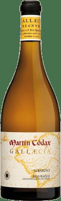 45,95 € Free Shipping | White wine Martín Códax Gallaecia D.O. Rías Baixas Galicia Spain Albariño Bottle 75 cl