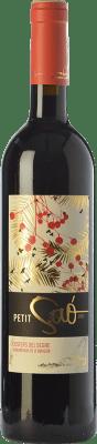 12,95 € Free Shipping | Red wine Blanch i Jové Petit Saó Negre Joven D.O. Costers del Segre Catalonia Spain Tempranillo, Grenache, Cabernet Sauvignon Bottle 75 cl