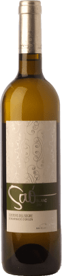 14,95 € Free Shipping | White wine Blanch i Jové Saó Blanc Fermentat en Barrica Crianza D.O. Costers del Segre Catalonia Spain Macabeo Bottle 75 cl | Thousands of wine lovers trust us to get the best price guarantee, free shipping always and hassle-free shopping and returns.