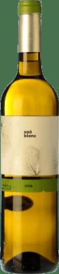 14,95 € Free Shipping | White wine Blanch i Jové Saó Blanc Fermentat en Barrica Crianza D.O. Costers del Segre Catalonia Spain Macabeo Bottle 75 cl