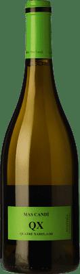 13,95 € Kostenloser Versand | Weißwein Mas Candí QX Quatre Xarel·los Crianza D.O. Penedès Katalonien Spanien Xarel·lo Flasche 75 cl