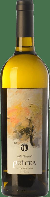 21,95 € Free Shipping | White wine Mas Comtal Petrea Crianza D.O. Penedès Catalonia Spain Chardonnay Bottle 75 cl
