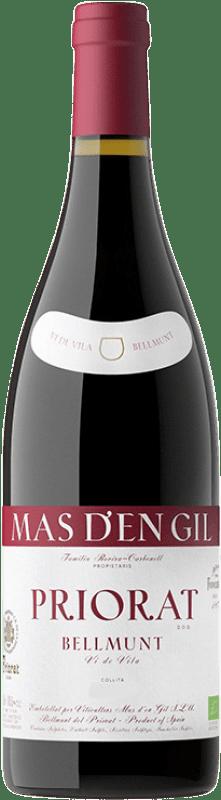17,95 € Free Shipping | Red wine Mas d'en Gil Vi de Vila Bellmunt Crianza D.O.Ca. Priorat Catalonia Spain Grenache, Cabernet Sauvignon, Carignan Bottle 75 cl
