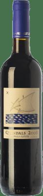 14,95 € Free Shipping | Red wine Mas Estela Quindals Crianza D.O. Empordà Catalonia Spain Syrah, Grenache, Carignan Bottle 75 cl