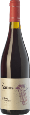 7,95 € Free Shipping | Red wine Josep Foraster Collita Joven D.O. Conca de Barberà Catalonia Spain Tempranillo, Cabernet Sauvignon Bottle 75 cl