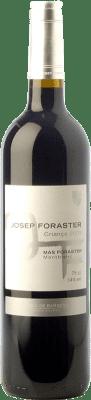 9,95 € Free Shipping | Red wine Josep Foraster Criança Crianza D.O. Conca de Barberà Catalonia Spain Tempranillo, Syrah, Cabernet Sauvignon Bottle 75 cl