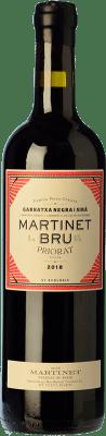 25,95 € Free Shipping | Red wine Mas Martinet Bru Crianza D.O.Ca. Priorat Catalonia Spain Syrah, Grenache Bottle 75 cl