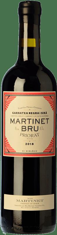 19,95 € Free Shipping | Red wine Mas Martinet Bru Crianza D.O.Ca. Priorat Catalonia Spain Syrah, Grenache Bottle 75 cl