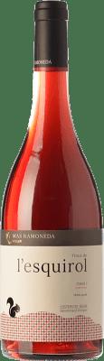 8,95 € Free Shipping | Rosé wine Mas Ramoneda Finca de l'Esquirol D.O. Costers del Segre Catalonia Spain Syrah, Cabernet Sauvignon Bottle 75 cl