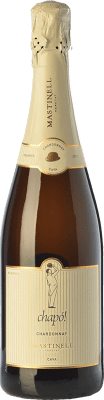 17,95 € Free Shipping | White sparkling Mas Tinell Chapó D.O. Cava Catalonia Spain Chardonnay Bottle 75 cl. | Thousands of wine lovers trust us to get the best price guarantee, free shipping always and hassle-free shopping and returns.