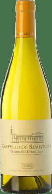 26,95 € Free Shipping | White wine Masciarelli Castello di Semivicoli D.O.C. Trebbiano d'Abruzzo Abruzzo Italy Trebbiano Bottle 75 cl