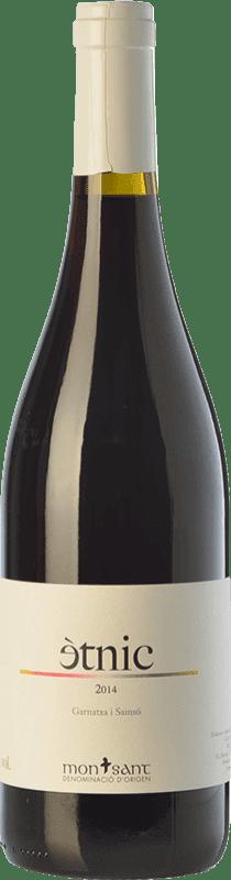 11,95 € Free Shipping | Red wine Masroig Ètnic Crianza D.O. Montsant Catalonia Spain Grenache, Carignan Bottle 75 cl